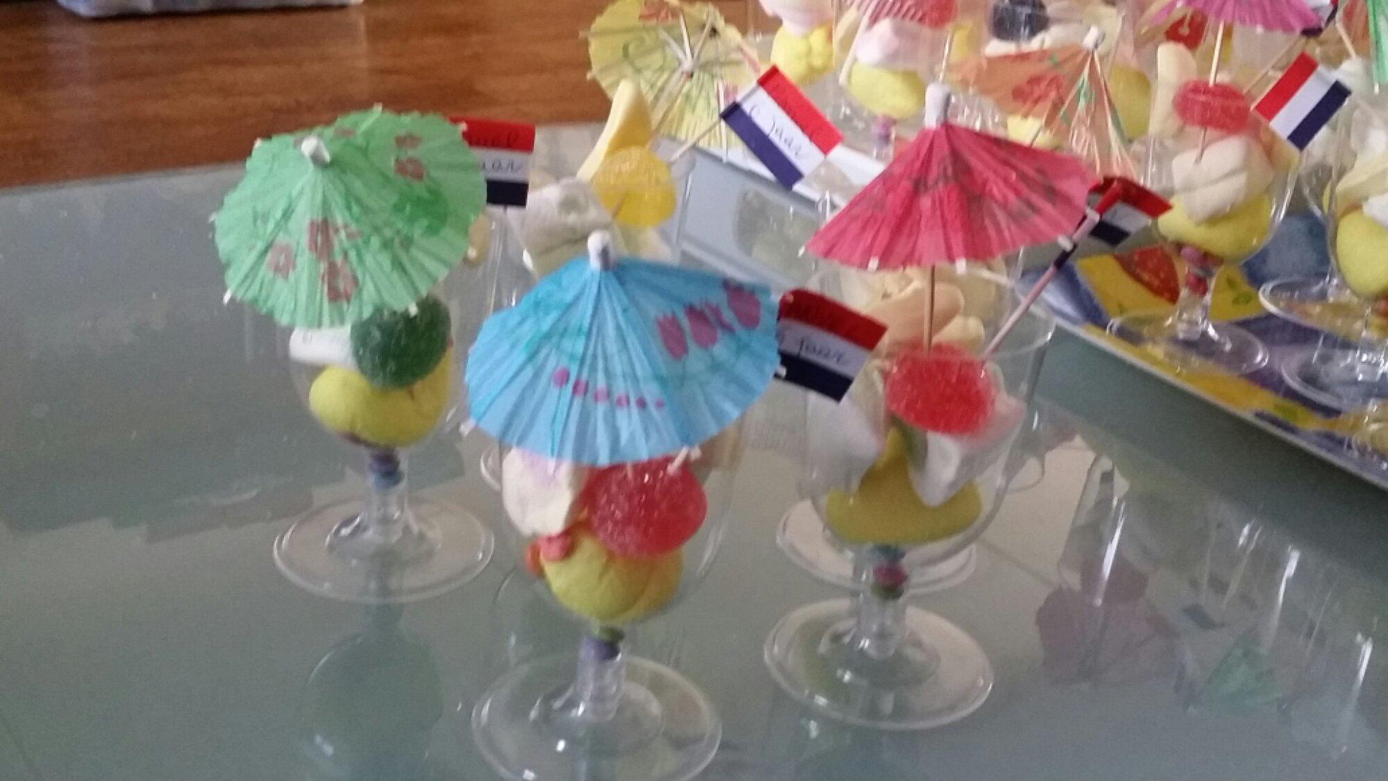 Conosciuto Sacchettini di gelato finto con marshmallow festa di compleanno  IF64